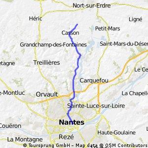 Nantes-Le pas chevalier