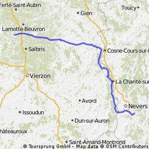 bretagne étape 4 Imphy/St viatre