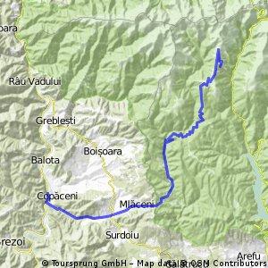Cornet-Perisani-Valea Topologului si retur