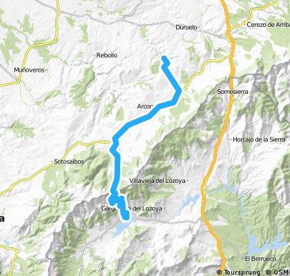 Castroserna - Lozoya - Castroserna (Navafría dos vertientes)