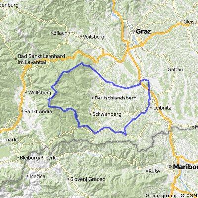 Koralpe - Steiermark - MTB - 3 Tages-Tour