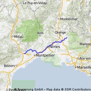 Carpentras - Saint-André-de-Sangonis