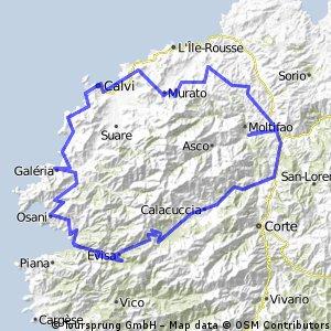 Korsika 5 dní 05/2012