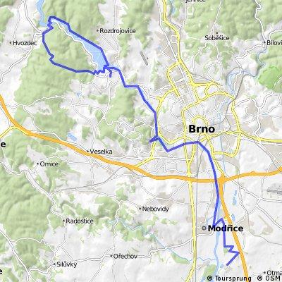Rebešovice - přehrada