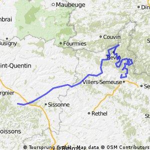 Laon - Charleville-Mézières