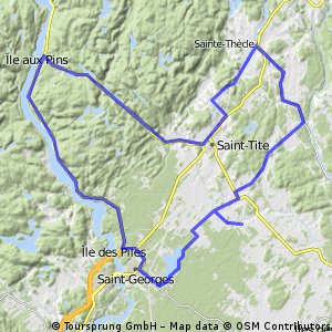 St-Georges, St-Roch, St-Tite, St-Thècle, chez Gérard, Lac à la tortue