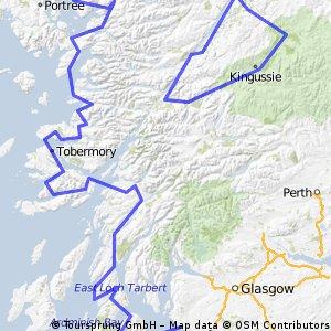 Route Schotland Fietsjunks