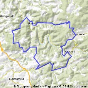 Die kleine Sauerländer-Alpen-Runde 2