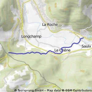 Cycling the Alps Col du mont de Fourche (0633m)