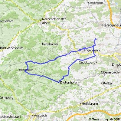 RR-78k-Tuchenbach - Neuhof adZenn