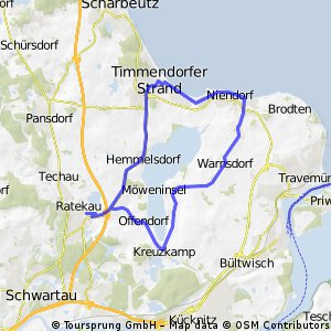 Familienfreundliche Rundtour um den Hemmelsdorfer See CLONED FROM ROUTE 62466 CLONED FROM ROUTE 1603667