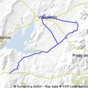 Villamartín-Jaboneros-Cruce Regantío-Los Ramírez-Villmartín
