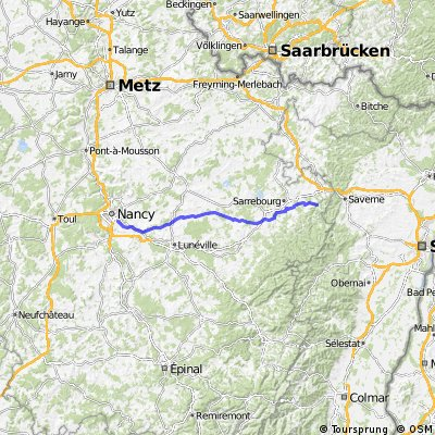 Paneuropa-Radweg (Paris - Prag) 2010 [Tag6] CLONED FROM ROUTE 656701