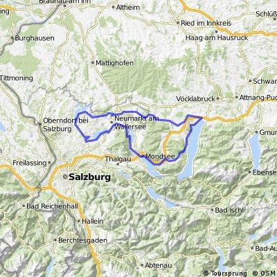 Seewalchen/Attersee, Mattsee - Seewalchen/Wallersee - Irrsee - Mondsee - Attersee - Seewalchen/Attersee