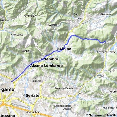 Bergamo - Val Rossa