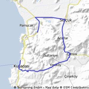 Kusadasi road ride 1