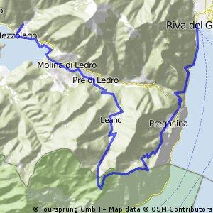 Mezzolago-Passo Guil-Pregasina-Riva