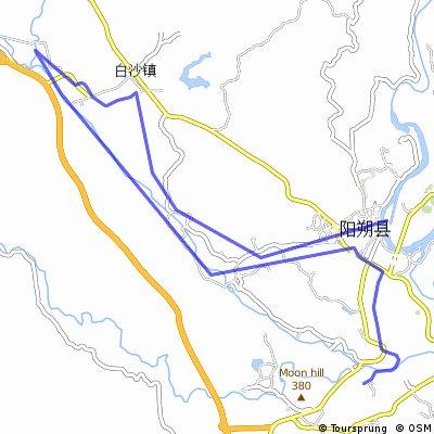 Biking in Yangshuo: Yu Long river loop