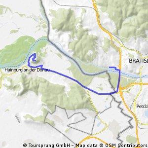Bratislava - Braunsberg (Hainburg)