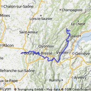 Bourg-en-Bresse - Les Rousses