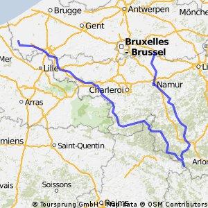 belgium beer routes