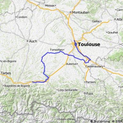 Saint-Gaudens - Toulouse