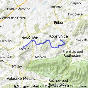 Kopřivnický Drtič 2012, start-K1