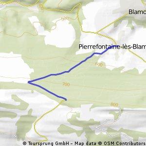Cycling the Alps Cote du Passage de la Douleur (0806m)