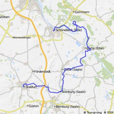Elbe Saale Bode Tour