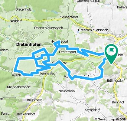 Rundtour Großhabersdorf