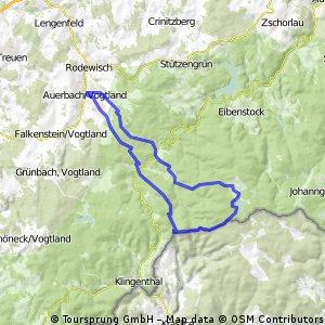 Auerbach - Carlsfeld - Aschberg