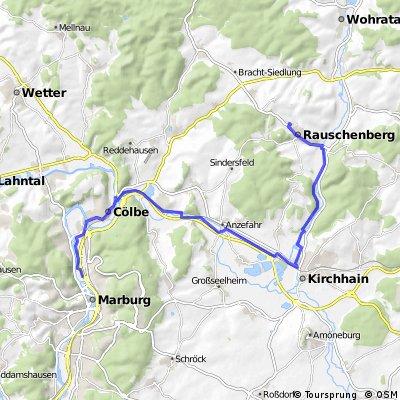 Marburg - Rauschenberg (Eisessen)