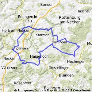 RV Bodelshausen - RTF 2012 (Tour C)