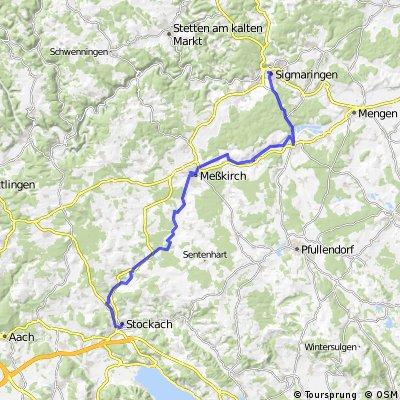 Sigmaringen - Stockach