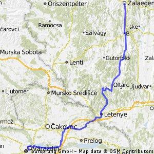 7-Länder 2012: 9 - Zalaegerszeg (H) - Varazdin (HR) über Letenye