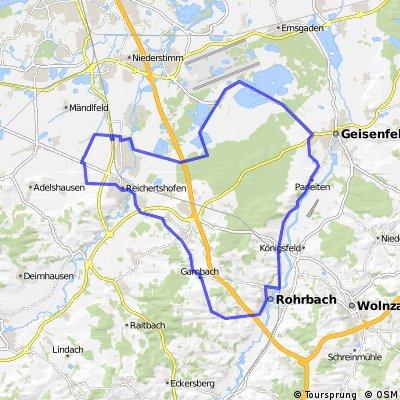 Karlskron-Rohrbach-Geisenfeld-Karlskron