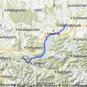 Von Attnang Puchheim nach Fuschl am See