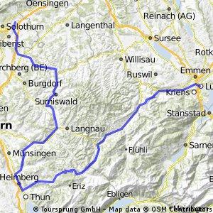 Luterbach - Schallenberg - Luzern