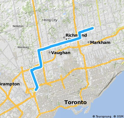 45Km Markham to Ronson