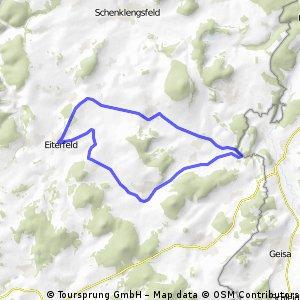 RUNDKURS - Eiterfeld - Ufhausen - Soisdorf - Großentaft - Leibolz - Eiterfeld CLONED FROM ROUTE 1155950