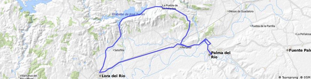 Palma-Peñaflor-Lora-ErmitaSetefilla-LaPuebla-Peñaflor-Palma