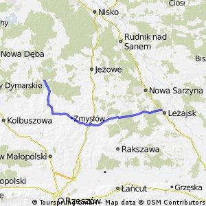 Leżajsk - Zbiornik Maziarnia