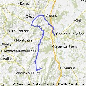 2010 burgund: 3b - chalon - canal du centre - voie verte - chapaize CLONED FROM ROUTE 477167
