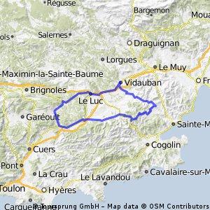 Carnoules 93km