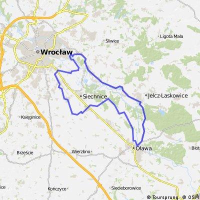 Wrocław-Oława-Wrocław
