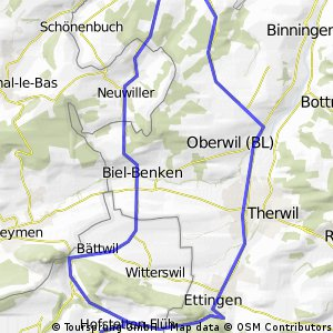 AllschwilHofstettermatte Bikemap Your bike routes