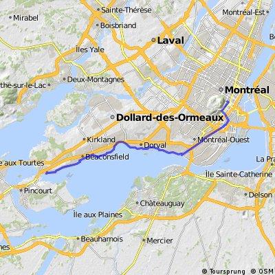 Macdonald Library Walkathon Route