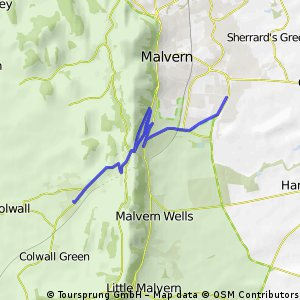 Up and Over the Malverns