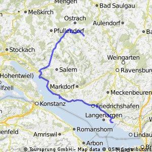 Riedhausen => Überlingen => Kressbronn