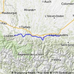 Von Lourdes nach Mane (30 + 31)